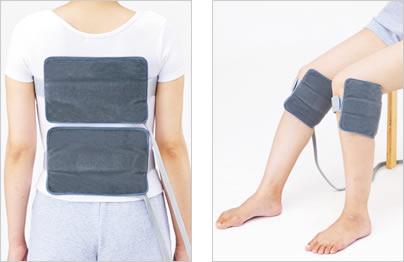 【超短波治療】超短波の温熱効果が血行を良くし、胃腸の働きを整える。