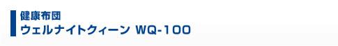 健康布団 ウェルナイトクイーン WQ-100