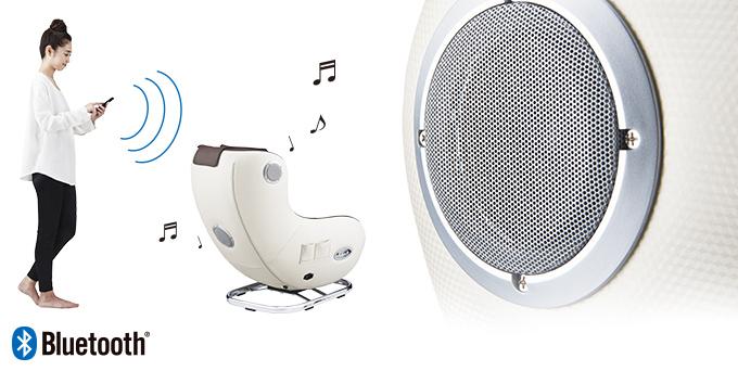 高音質の2.1ch Bluetooth対応スピーカー