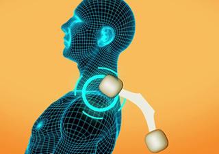 肩位置検出センサーで使う人に適したマッサージ